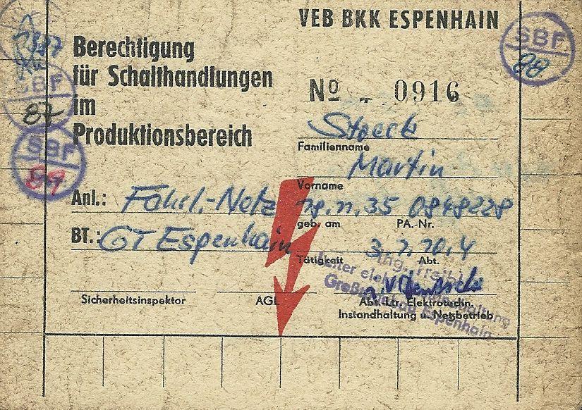 Die Loks aus dem ehemaligen Tagebau Espenhain | Dokumente - Sonstiges