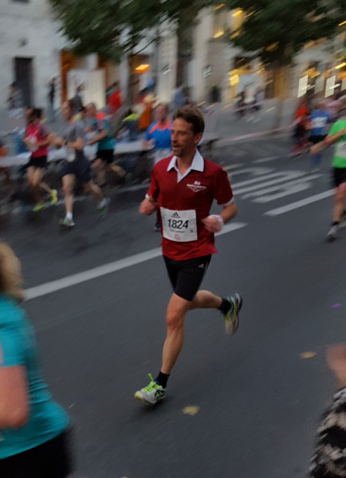 10 km Berliner City-Night (30.7.2016)